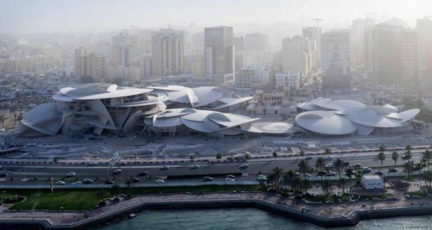 موزه ملی قطر پس از ۱۸ سال افتتاح شد.