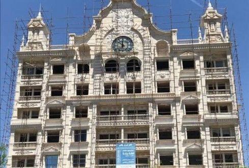 مراحل پایانی احداث هتل تبریز پالاس